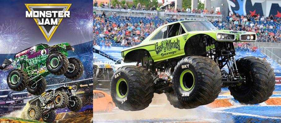 Monster Jam at Amalie Arena