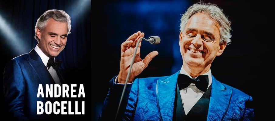 Andrea Bocelli at Amalie Arena