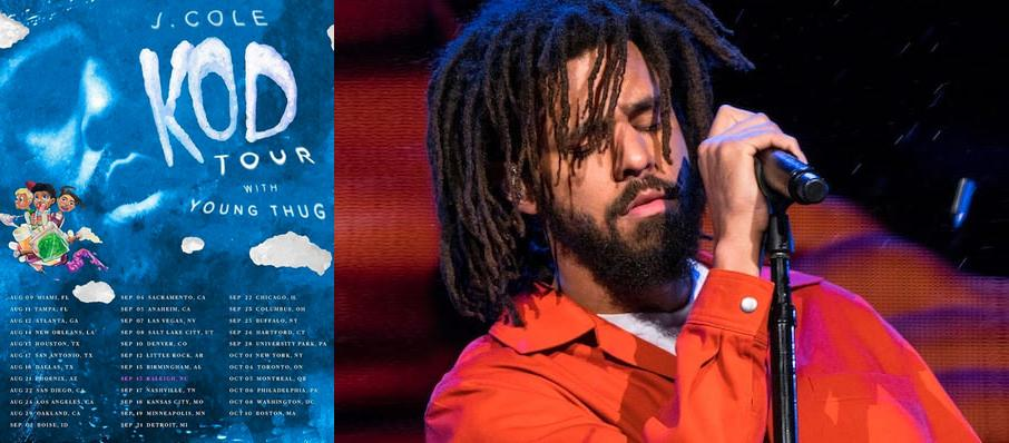 J. Cole at Amalie Arena