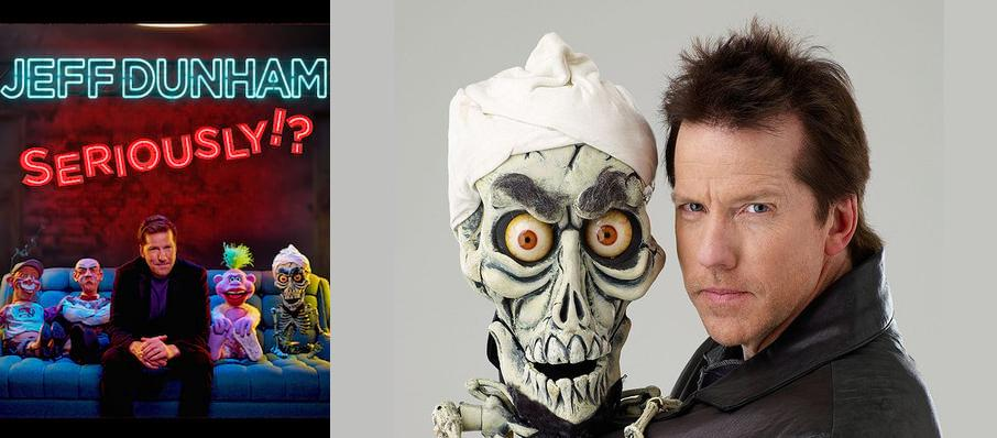 Jeff Dunham at Amalie Arena