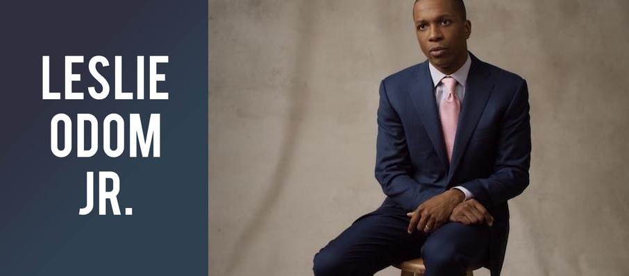 Leslie Odom Jr. at Ferguson Hall