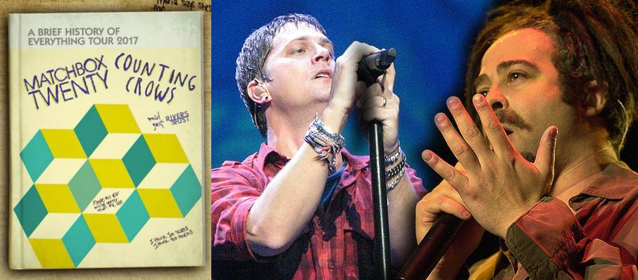 Matchbox Twenty and Counting Crows at MidFlorida Credit Union Amphitheatre