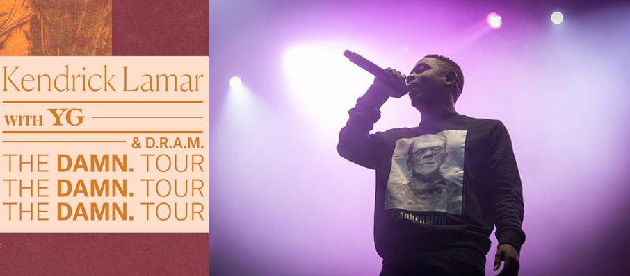 Kendrick Lamar with YG and DRAM at Amalie Arena