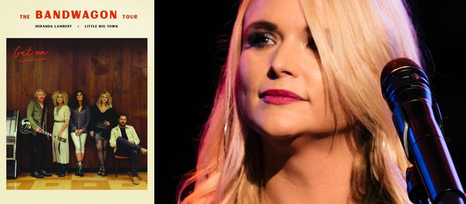Miranda Lambert with Little Big Town at MidFlorida Credit Union Amphitheatre