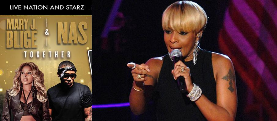 Mary J Blige and Nas at MidFlorida Credit Union Amphitheatre
