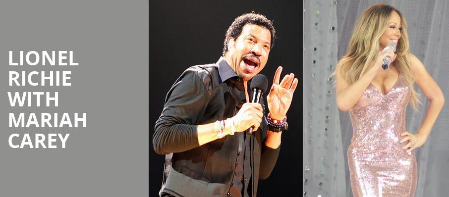 Lionel Richie with Mariah Carey, Amalie Arena, Tampa
