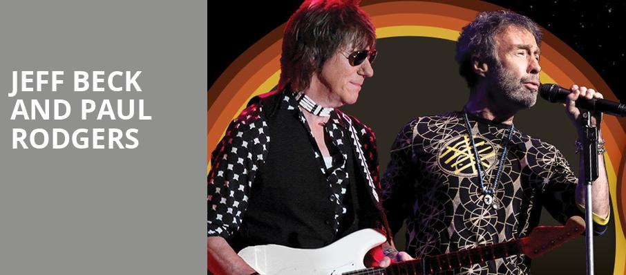 Jeff Beck and Paul Rodgers, MidFlorida Credit Union Amphitheatre, Tampa