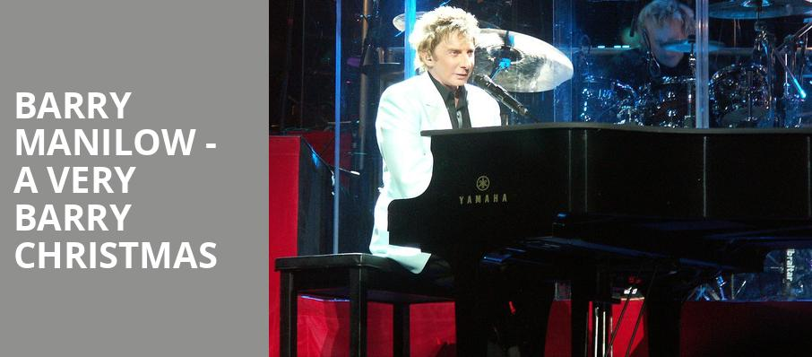 Barry Manilow A Very Barry Christmas, Amalie Arena, Tampa