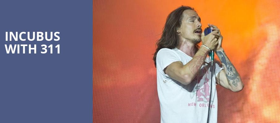 Incubus with 311, MidFlorida Credit Union Amphitheatre, Tampa