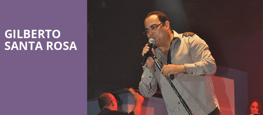 Gilberto Santa Rosa, Hard Rock Hotel And Casino Tampa, Tampa